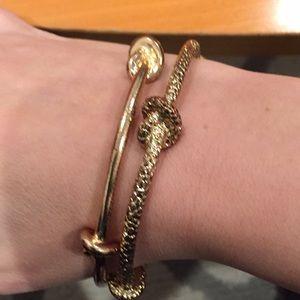 Jewelry - Sailor knit bracelet pair